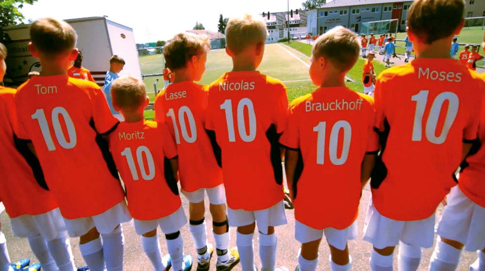 Young Players at Ingo Anderbruegges Soccer Academy